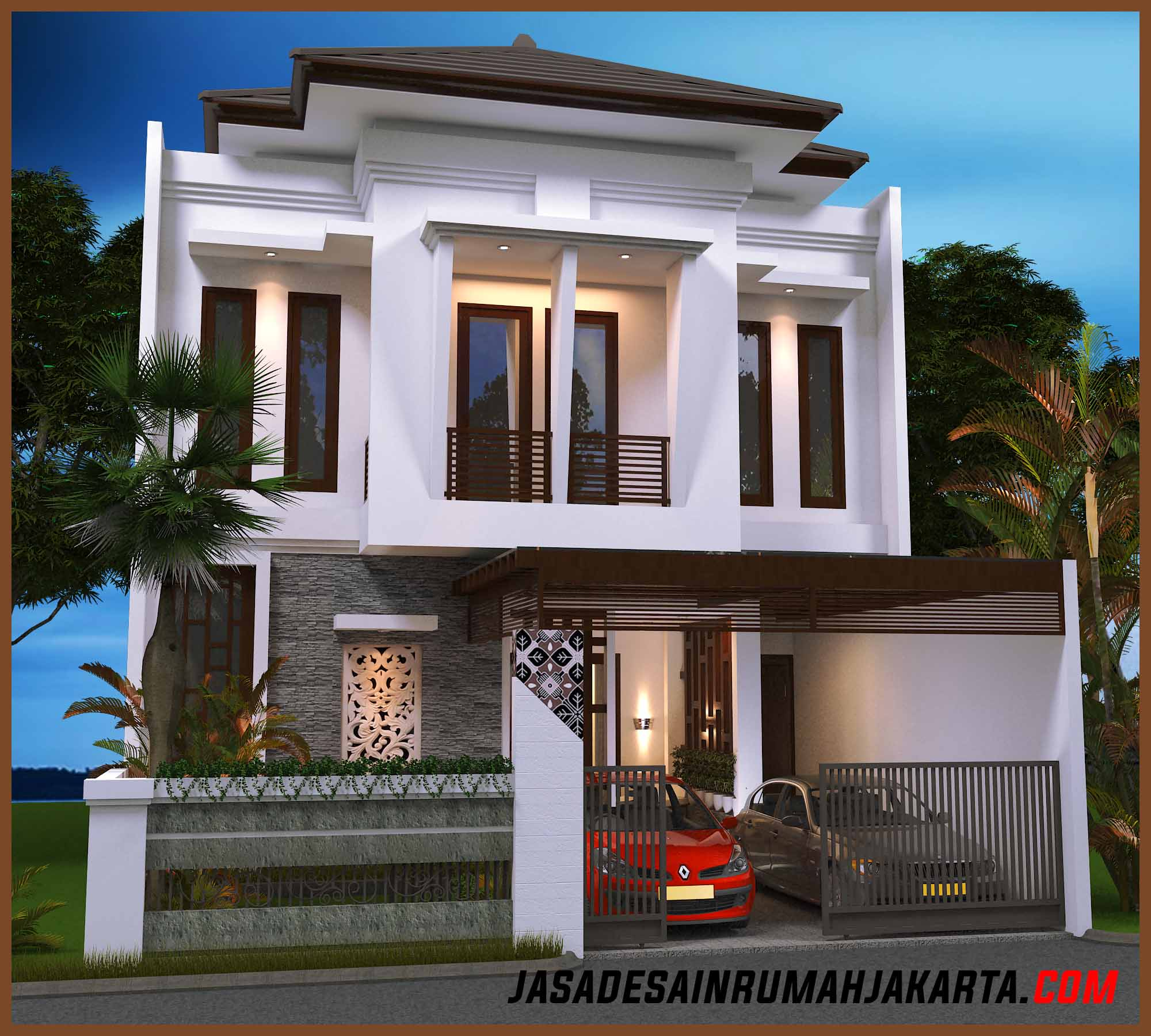 Jasa Desain Rumah Mewah: Gambar Rumah Model Terbaru 2017, Jasa Desain Rumah Jakarta