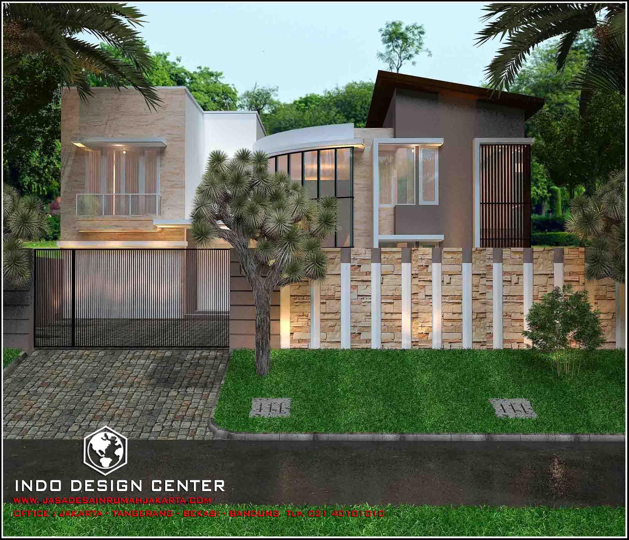 Jasa Arsitek Rumah Di Jakarta Desain Rumah Bapak Hengki