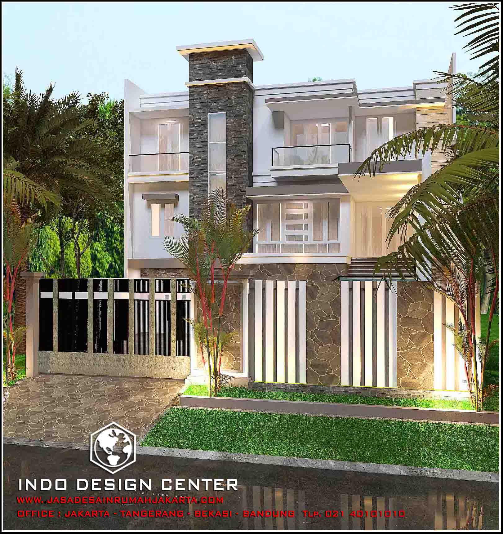 Jasa Arsitek Rumah Di Jakarta Desain Rumah Bapak Riyanto Jasa
