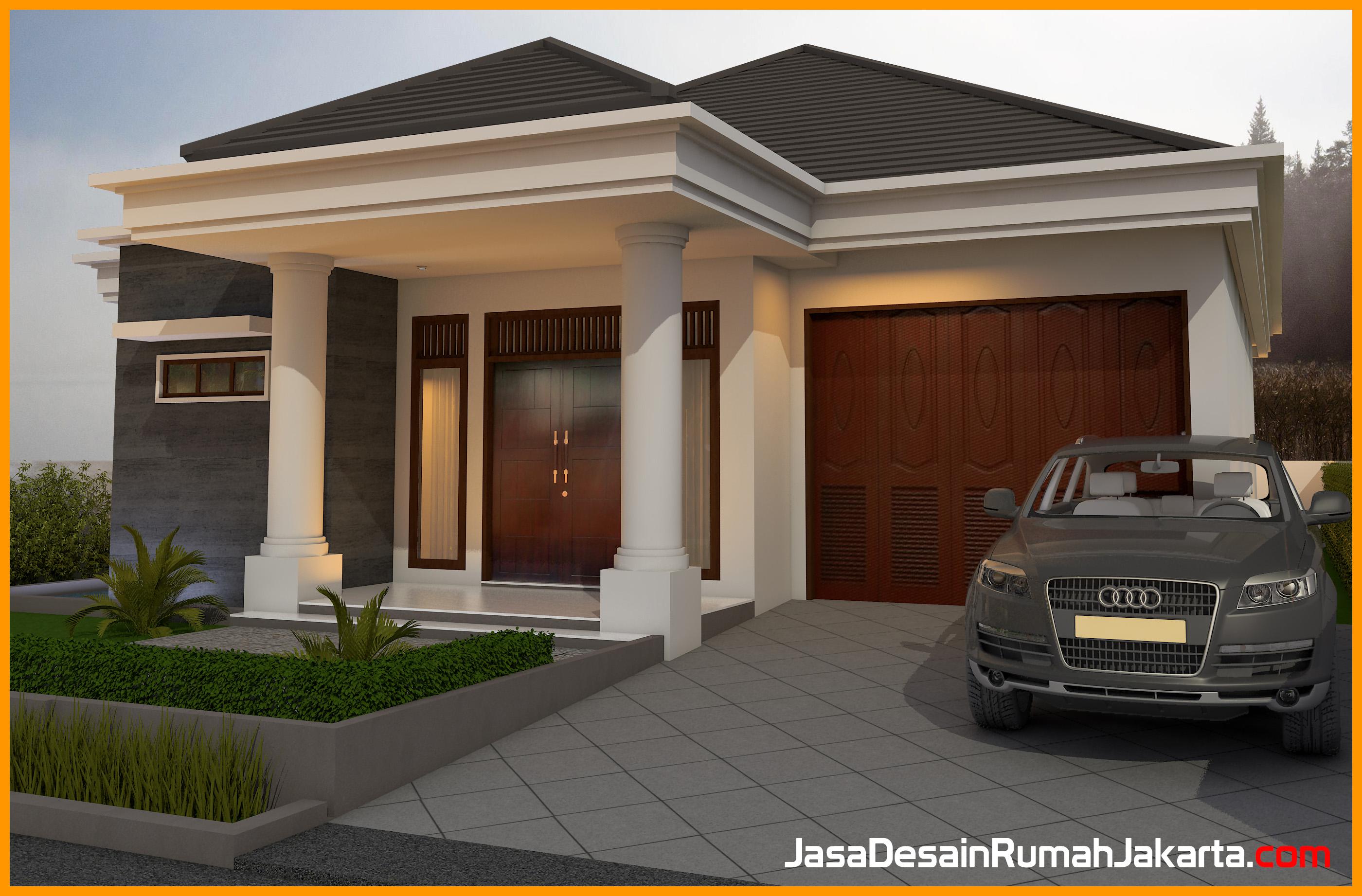 Model desain rumah minimalis modern jasa desain rumah jakarta for Design rumah mimimalis modern