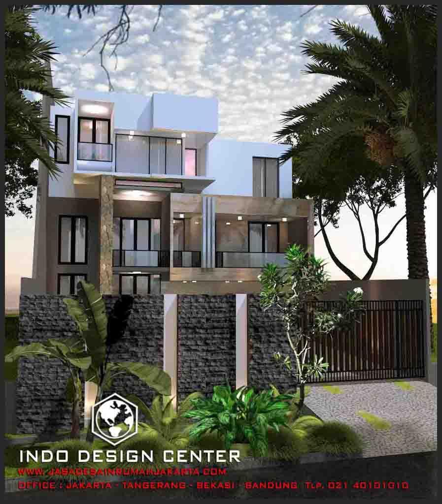 Rumah Minimalis Modern 3 Lantai Jasa Desain Rumah Jakarta
