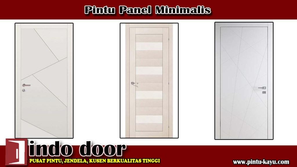 Pintu Panel Minimalis