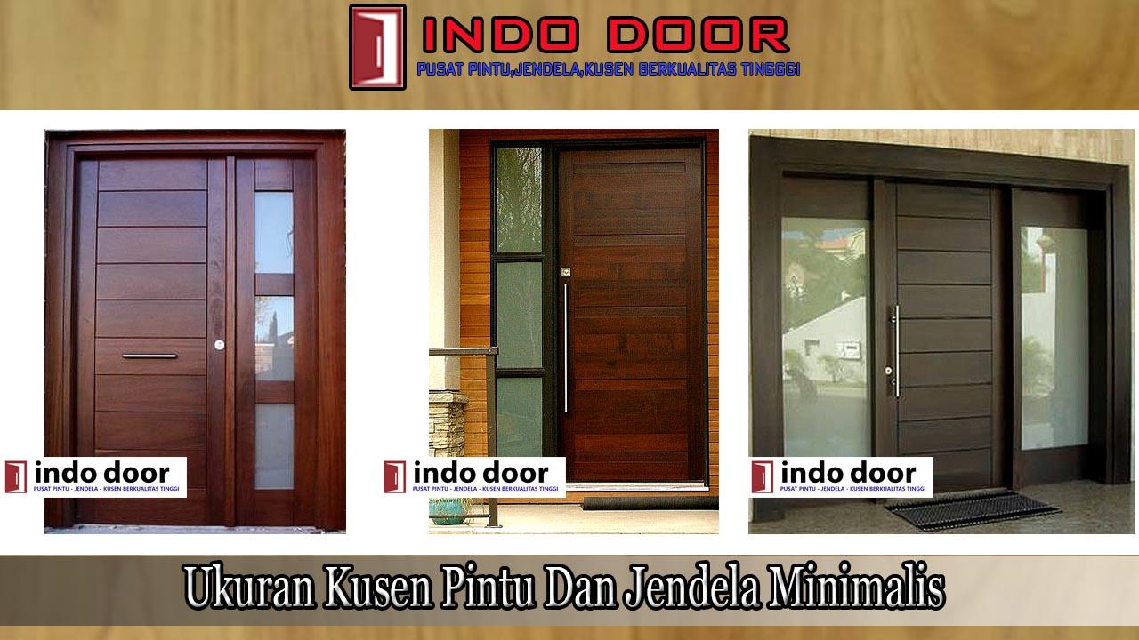 ukuran kusen pintu dan jendela minimalis