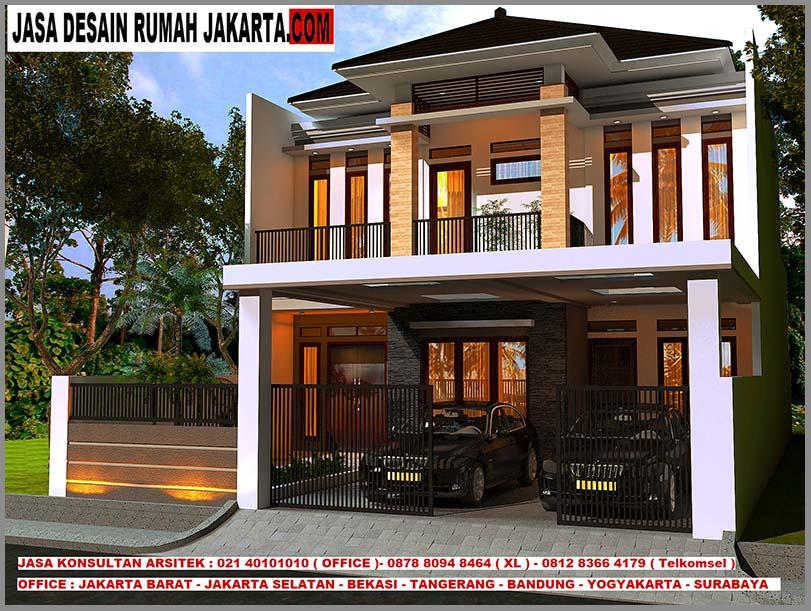 Desain Rumah Mewah Minimalis Modern 2 Lantai Ukuran 9m x ...
