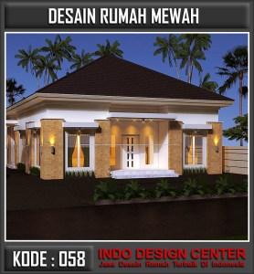 Arsitek Desain Rumah Mewah 1 Lantai Bu Netty