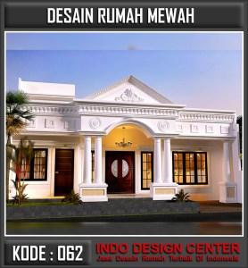 Arsitek Desain Rumah Mewah 1 Lantai Bp Erwin