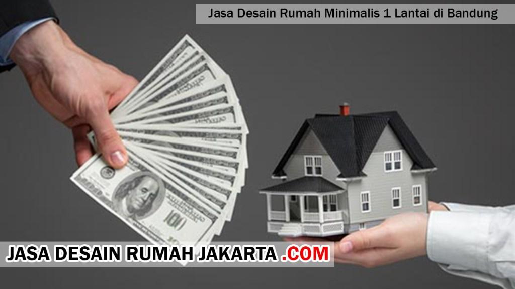 Jasa Desain Rumah Minimalis 1 Lantai di Bandung
