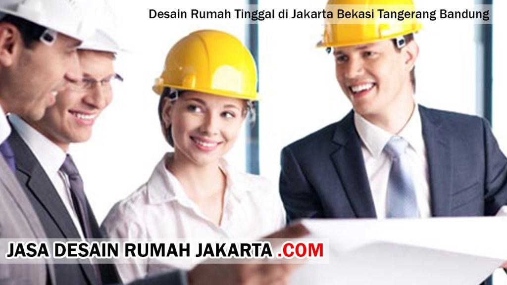 Desain Rumah Tinggal di Jakarta Bekasi Tangerang Bandung