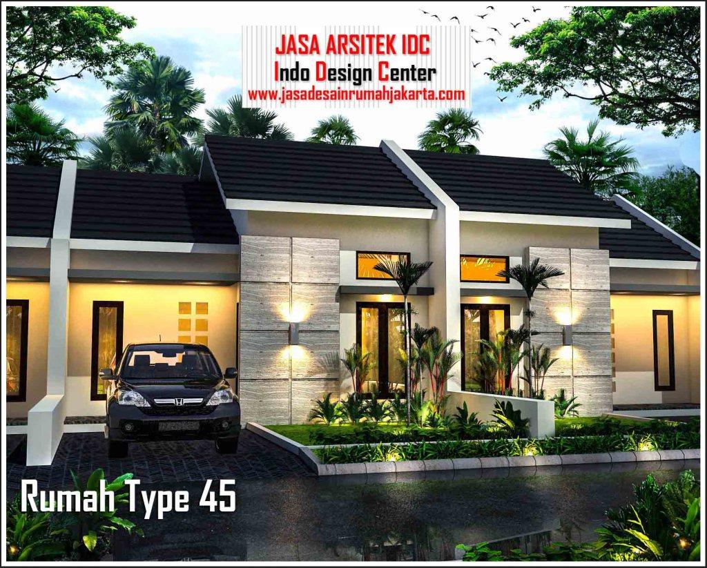 44+ Desain Rumah Perumahan Type 45 HD