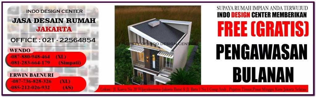 Jasa Desain Rumah Minimalis Di Tambora - Jakarta Barat - Tangerang - Bekasi - Bandung - Surabaya