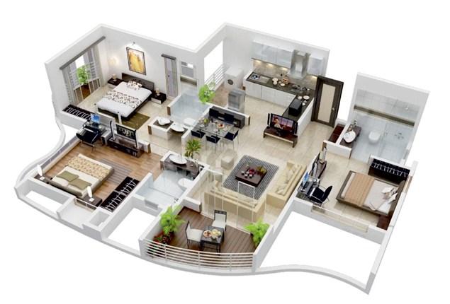 Contoh rumah terbaru