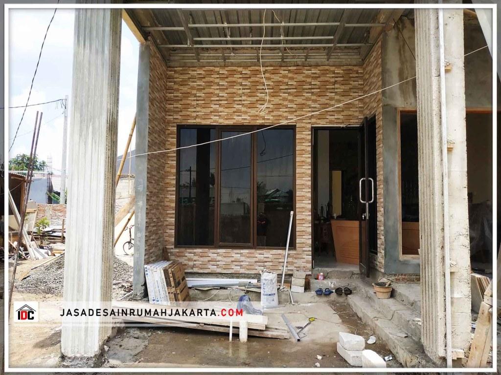 Realisasi Desain Rumah Classic Klasik Modern Di Bekasi Kunjungan Feb 19