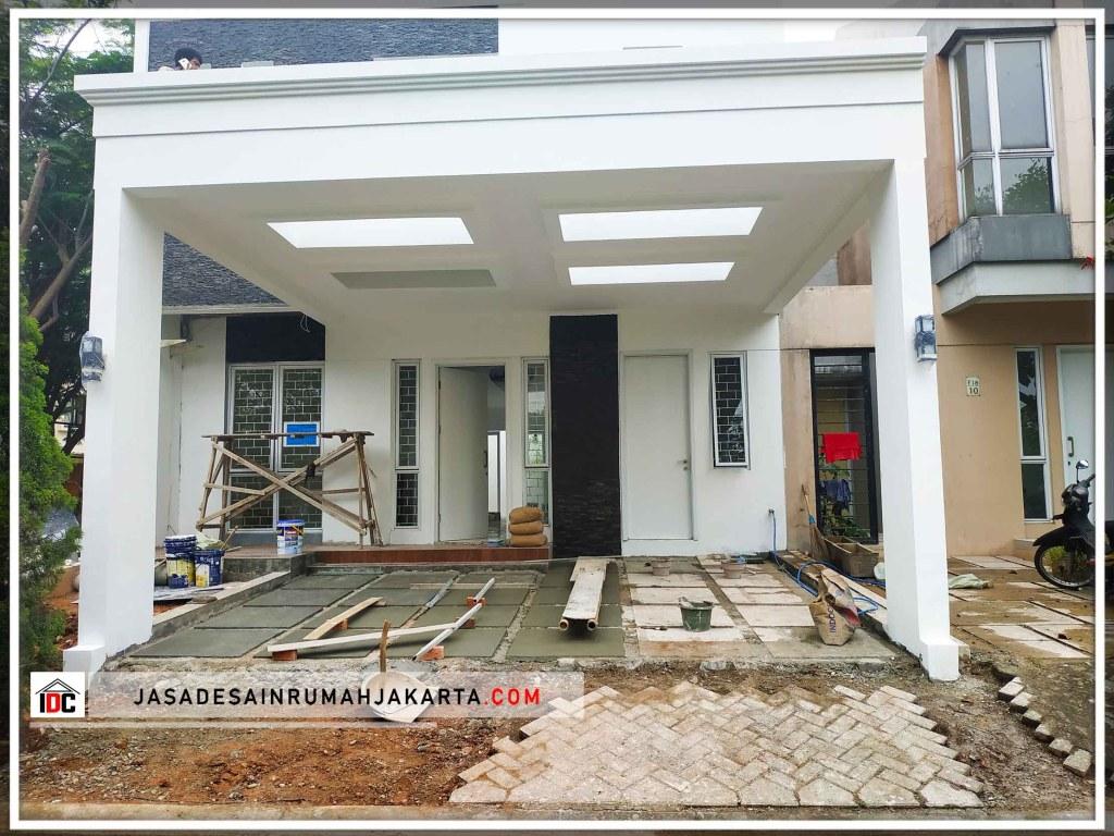 Realisasi Desain Rumah Minimalis Ibu Widiya Di Tangerang Kunjungan Februari 2019