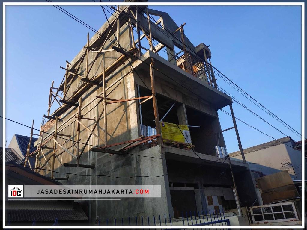 Realisasi Desain Rumah Minimalis Modern Pak Krisna Di Jakarta Timur Kunjungan Feb 2019