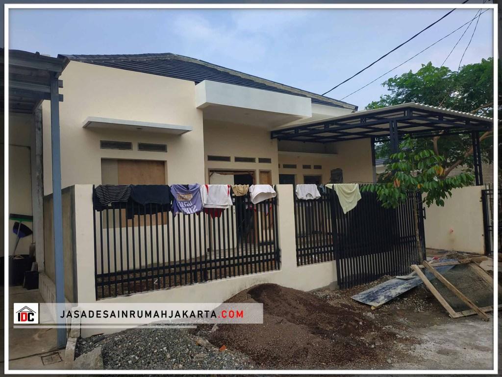 Realisasi Desain Rumah Minimalis Pak Lukman Di Bekasi Kunjungan Februari 2019