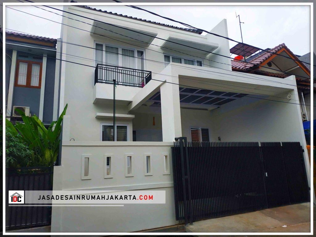 Realisasi Desain Rumah Minimalis Pak Soni Di Jakarta Selatan