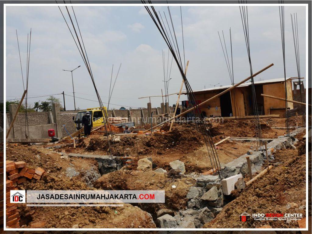 Struktur Pondasi Rumah Bu Cahya - Arsitek Gambar Desain Rumah Klasik Modern Di Bekasi-Jakarta-Surabaya-Tangerang-Bandung-Jasa Konsultan Desain Arsitek Profesional 1