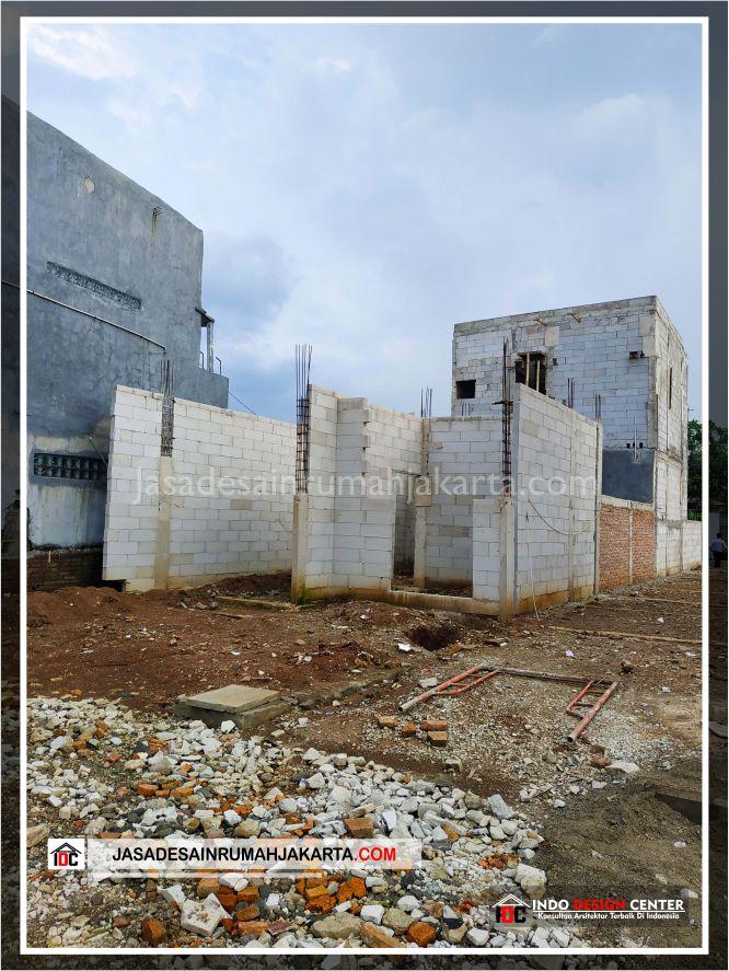 Kontruksi Dinding Rumah Bpk Tito-Arsitek Gambar Desain Rumah Minimalis Modern Di Bekasi-Jakarta-Surabaya-Tangerang-Jasa Konsultan Desain Arsitek Profesional 1