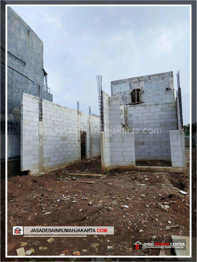 Kontruksi Dinding Rumah Bpk Tito-Arsitek Gambar Desain Rumah Minimalis Modern Di Bekasi-Jakarta-Surabaya-Tangerang-Jasa Konsultan Desain Arsitek Profesional 2