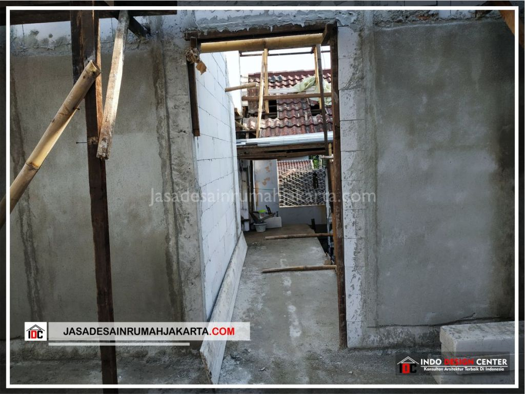 Pengerjaan Plester Rumah Bpk Adi-Arsitek Gambar Desain Rumah Minimalis Modern Di Tangerang-Jakarta-Surabaya-Bekasi-Bandung-Jasa Konsultan Desain Arsitek Profesional 2