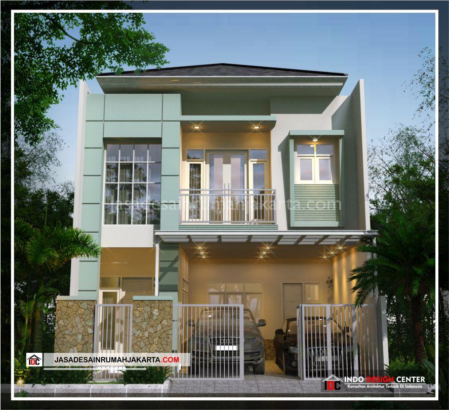 Rencana Desain Rumah Bpk Adi-Arsitek Gambar Desain Rumah Minimalis Modern Di Bekasi-Jakarta-Surabaya-Tangerang-Bandung-Depok-Jasa Konsultan Desain Arsitek Profesional 1