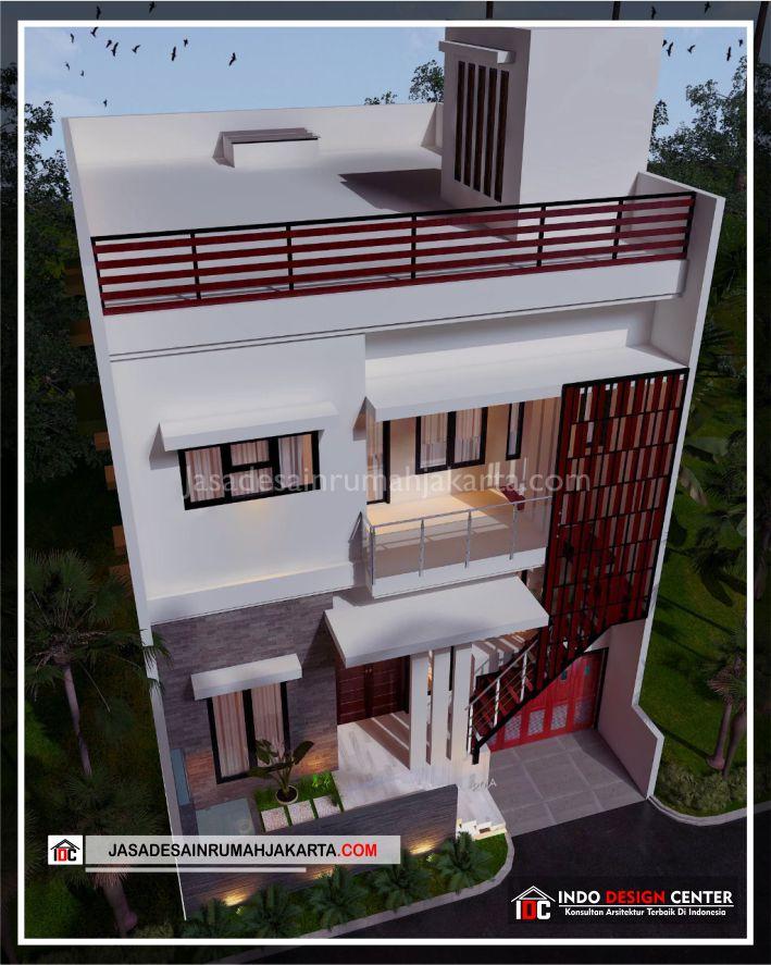 Rencana Desain Rumah Bpk Ricardo-Arsitek Gambar Desain Rumah Minimalis Modern Di Jakarta-Tangerang-Surabaya-Bekasi-Bandung-Depok-Jasa Konsultan Desain Arsitek 3