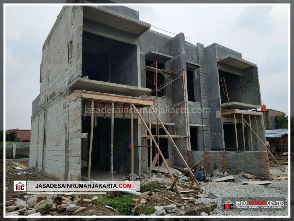 Tampak Depan Rumah Bpk Tito-Arsitek Gambar Desain Rumah Minimalis Modern Di Bekasi-Jakarta-Surabaya-Tangerang-Jasa Konsultan Desain Arsitek Profesional 4