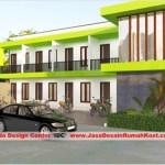 Desain Rumah Kost 2 Lantai Di Cipinang Cover