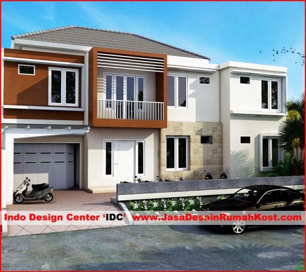 Desain Rumah Kost 2 Lantai Di Kebon Jeruk 1