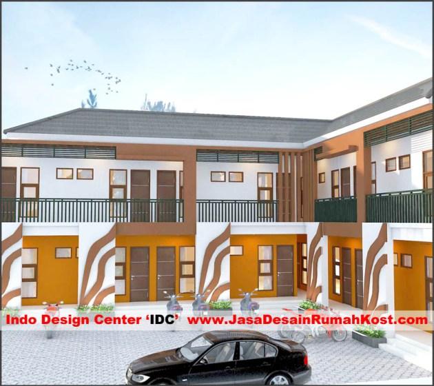 Desain Rumah Kost 2 Lantai Di Rawamangun F