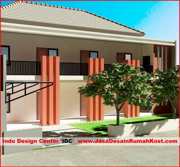 Desain Rumah Kost 2 Lantai di Bintara Bekasi c