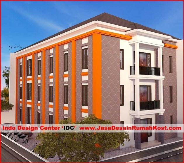 Desain Rumah Kost 3 Lantai Di Kemanggisan 3
