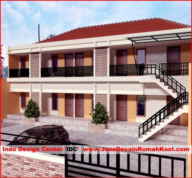 Desain Rumah Kost di Bekasi Bantar Gebang 1
