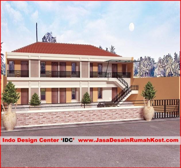 Desain Rumah Kost di Bekasi Bantar Gebang 2