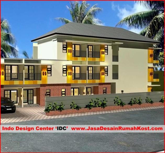 Desain Rumah Kost di Tangerang a