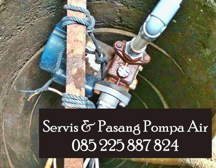 jasa service pompa air di solo