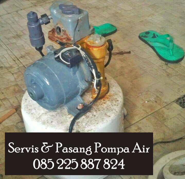 servis pompa air di solo