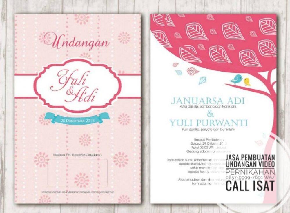 0857 9999 7691 Wa Call Isat Jasa Undangan Pernikahan Digital