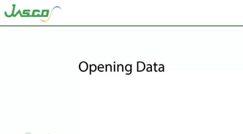 Opening Data in Data Viewer
