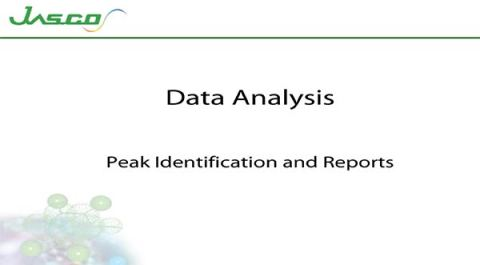 Peak ID and Reports
