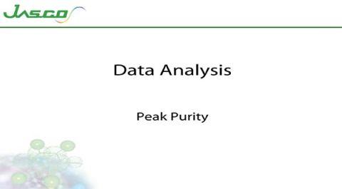 Peak Purity