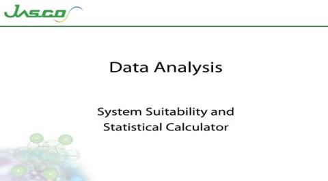 System Suitability and Statistical Calculator