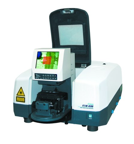 In-compartment FTIR microscope
