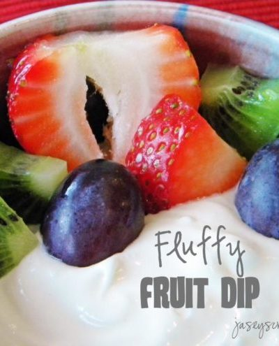 Fabulous Fluffy Fruit Dip
