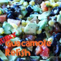 Chunky Guacamole Relish Dip