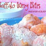 Stuffed Buffalo Chicken Wing BItes