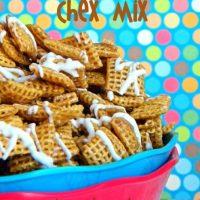 Cinnamon Bun Chex Mix