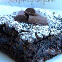 Chocolate Chunk Zucchini Brownies