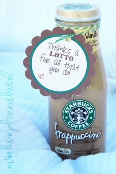 Thanks a latte printable