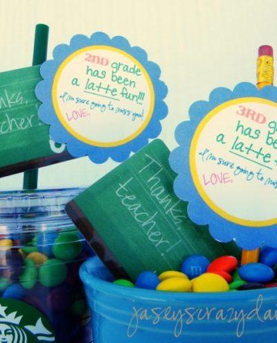 1st Grade Has Been A Latte Fun {Teacher Appreciation Gift}